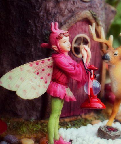 Orchis Fairy - Fairy Garden Landscape - Fairy Garden Supplies