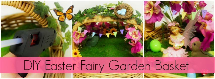 DIY Easter Fairy Garden Basket