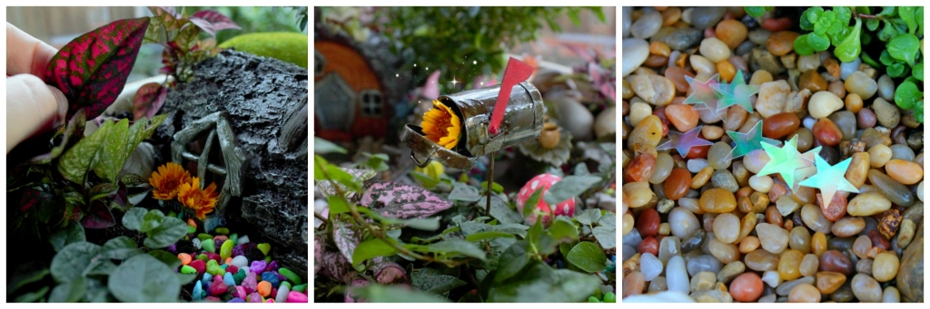 Decorate your miniature fairy garden