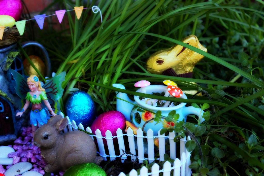 Easter Fairy Garden Suprises