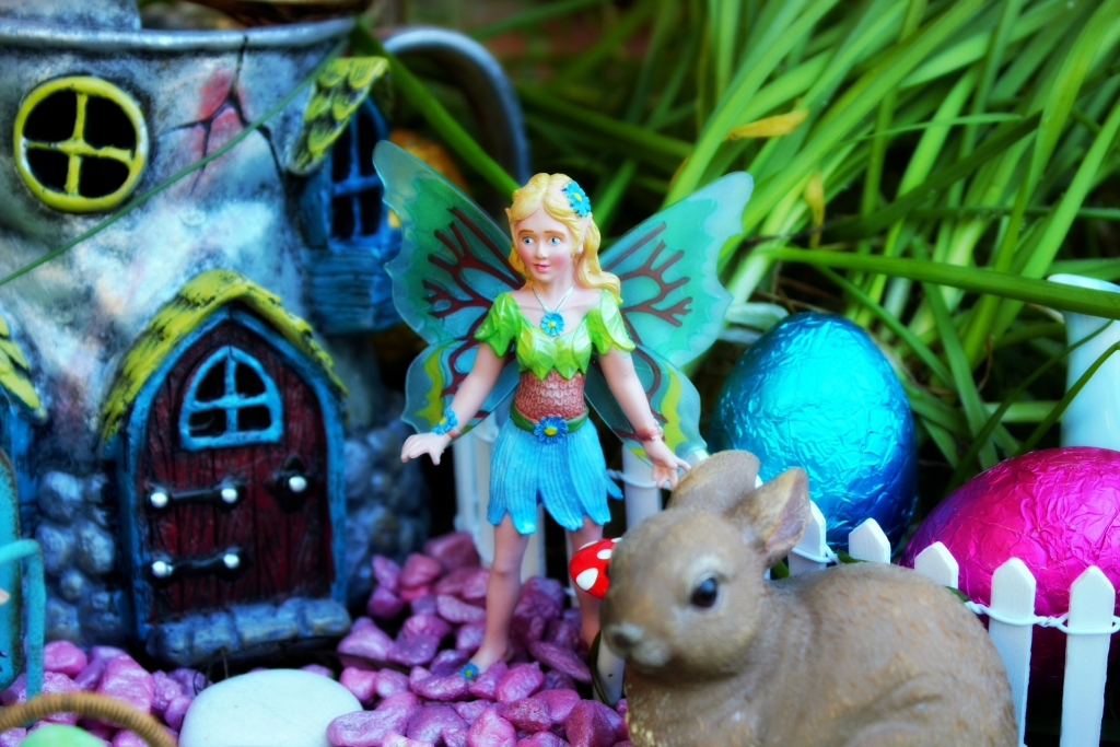 Fairies in the Easter Garden