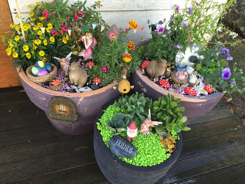 Fairy Garden in a Pot Project For The Whole Family