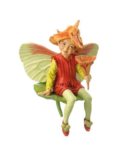 Nasturtium Fairy - Cicely Mary Barker Fairy