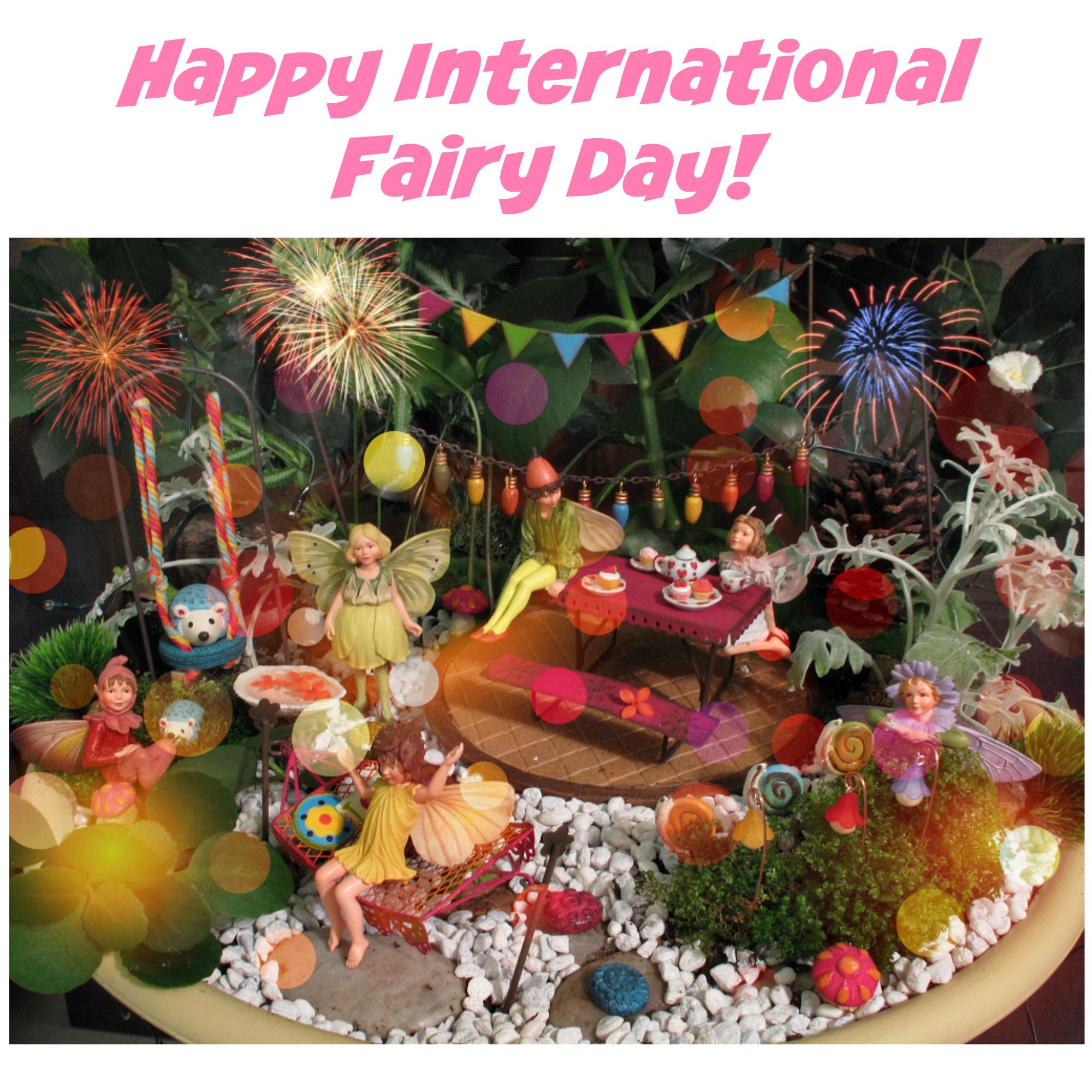Happy International Fairy Day - Fairy Gardening In Australia
