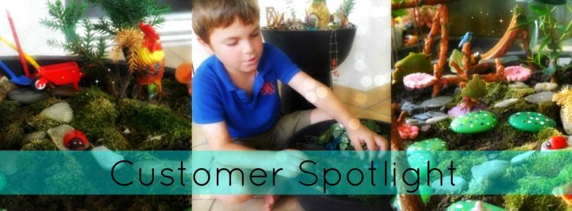 Blog Post - The Customer Fairy Garden Spotlight