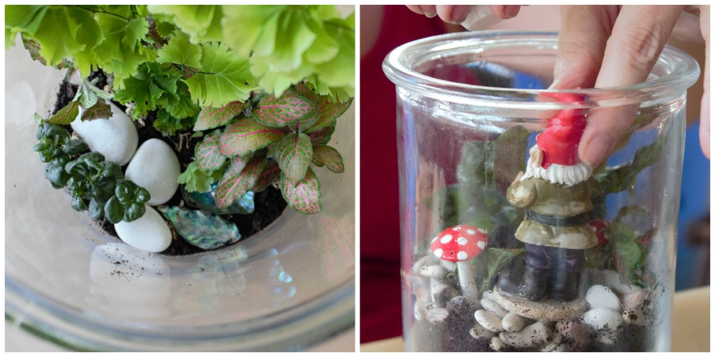 Make your very own terrarium fairy garden