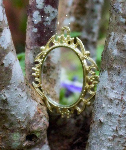 Miniature Fairy Garden Mirror - Fairy Garden Supplies Australia