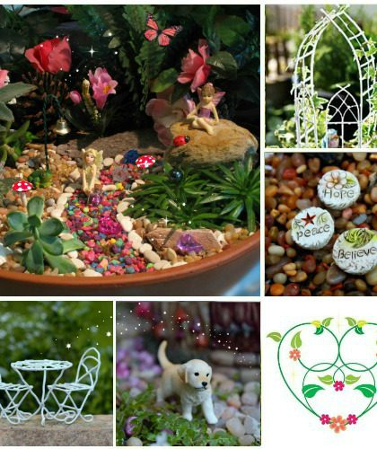 enchanted fairy garden kit in stores