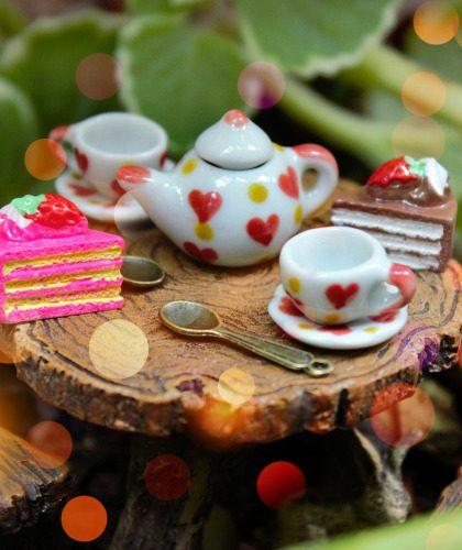 Tea Sets & Fairy Food
