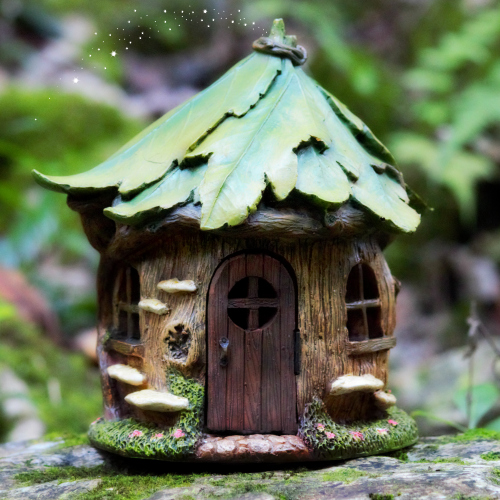 Forest fairy house fairy garden cottage opening fairy door for Fairy house doors