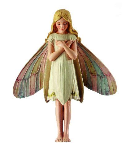 Snow Drop Fairy - Flower Fairy - Fairy Garden Miniatures