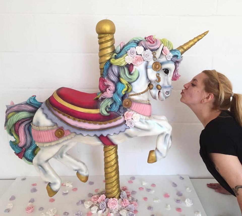 Unicorn Cake - Garden Sparkle