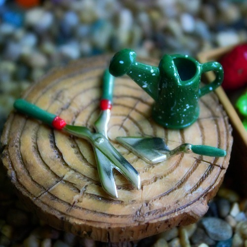 Garden Tool Set – Miniature Fairy Garden Accessories