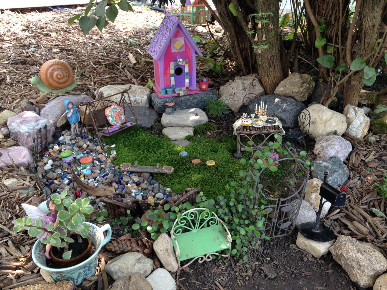 Lilac Hill Fairy Garden - Fairy Garden Ideas 2.1