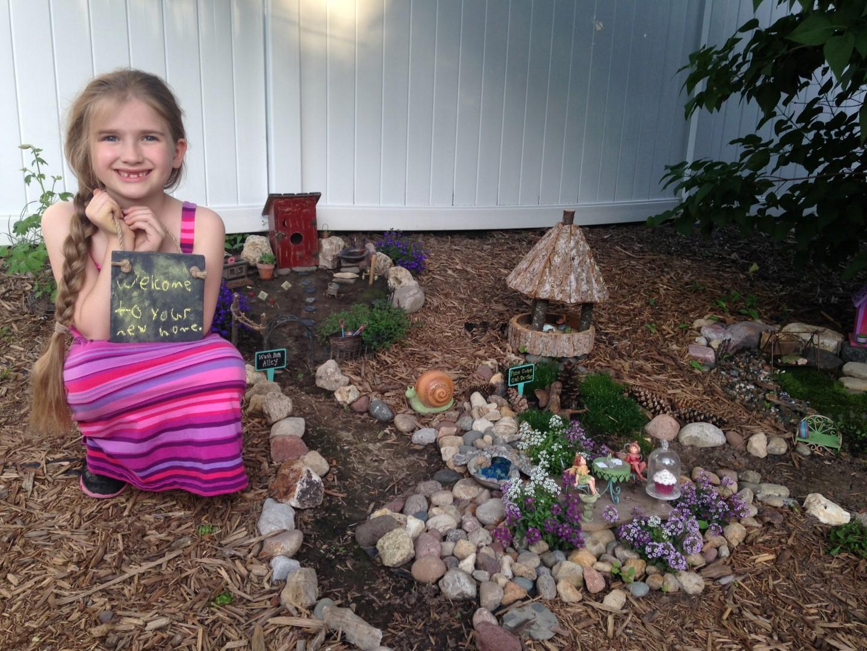 Lilac Hill Fairy Garden - Fairy Garden Ideas 2