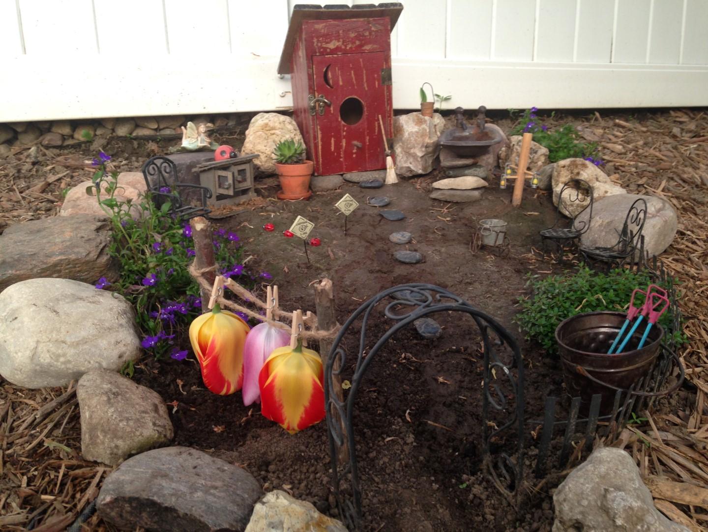Lilac Hill Fairy Garden - Fairy Garden Ideas 5.1