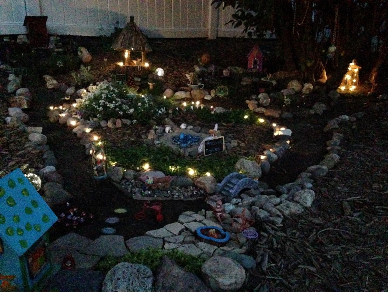 Lilac Hill Fairy Garden - Fairy Garden Ideas 8