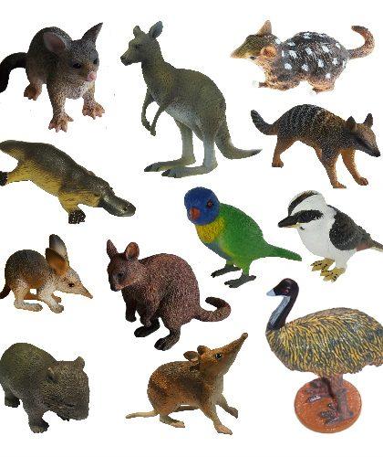 Australian Wildlife Figurines