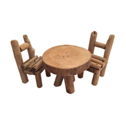 new product 5c8e2 651cb Mini Wooden Table Set