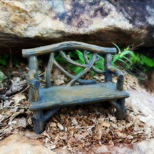 Awesome Rustic Log Bench Bralicious Painted Fabric Chair Ideas Braliciousco