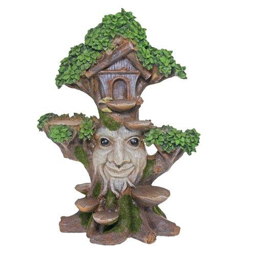 FAIRY OAK TREE DOOR Mini Garden Home Faerie Miniature Woodland Faery House